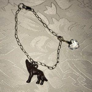 Twilight Saga Jacob Wolf Bracelet